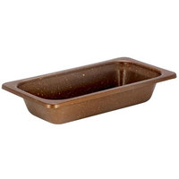 Bon Chef 5215COFFEE HotStone 1 Qt. Coffee 1/3 Size Stainless Steel Food Pan