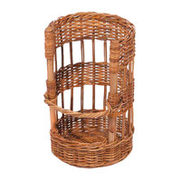 Natural Round Wicker Display Basket - 12 inch x 19 inch