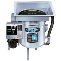 Salvajor S914 Food Scrapper / Waste Collector with Standard Basin - 3/4 hp, 230V, 1 Phase