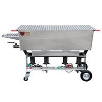 R & V Works CSB-60 60 inch Liquid Propane Cajun Seafood Boiler - 360,000 BTU
