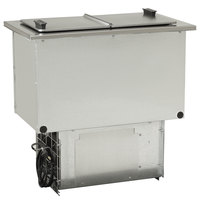 Delfield N225P 6 Gallon Drop-In Freezer with Clear Lids