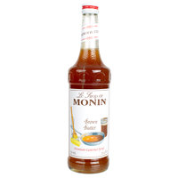 Monin 750 mL Premium Brown Butter Flavoring Syrup