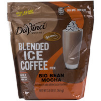 DaVinci Gourmet Ready to Use Big Bean Mocha Mix - 3 lb.