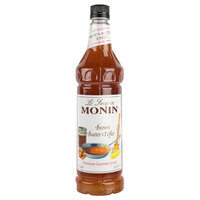 Monin 750 mL Premium Brown Butter Toffee Flavoring Syrup