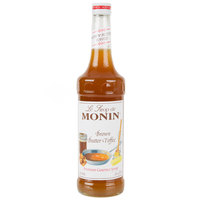 Monin 750 mL Premium Brown Butter Toffee Flavoring Syrup