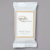 Novo Essentials 0.8 oz. Hotel and Motel Wrapped Bath Soap Bar - 500/Case