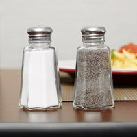 2 oz. Mushroom Top Salt and Pepper Shaker - 4/Pack