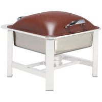Bon Chef 20313-BURNTUMBER Powerline Burnt Umber 8 Qt. Square Induction Chafer