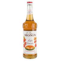 Monin 750 mL Premium Maple Pancake Flavoring Syrup