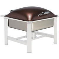 Bon Chef 20313-LEATHER Powerline Leather 8 Qt. Square Induction Chafer