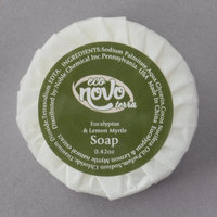 Eco Novo Terra 0.42 oz. Wrapped Round Glycerin Hotel and Motel Bath Soap Disc - 1000/Case
