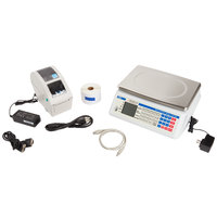 Cardinal Detecto D60 60 lb. Digital Price Computing Scale with Thermal Label Printer