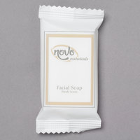 Novo Essentials 0.4 oz. Hotel and Motel Wrapped Facial Soap Bar - 1000/Case