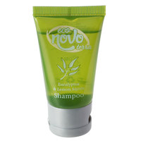 Eco Novo Terra 1 oz. Hotel and Motel Shampoo with Flip-Top Cap - 300/Case