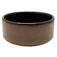 Oneida L6753059941 Rustic 2 oz. Chestnut Porcelain Dip / Sauce Dish / Ramekin - 72/Case