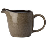 Oneida L6753059805 Rustic 6 oz. Chestnut Porcelain Creamer - 24/Case
