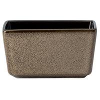 Oneida L6753059980 Rustic Chestnut 3 3/4 inch Porcelain Sugar Caddy - 24/Case