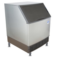 Manitowoc UDF0140A NEO 26 inch Air Cooled Undercounter Dice Cube Ice Machine with 90 lb. Bin - 115V, 135 lb.