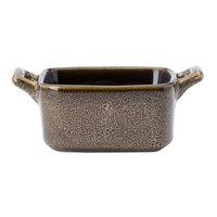 Oneida L6753059981 Rustic 3 oz. Chestnut Porcelain Mini Baker - 48/Case