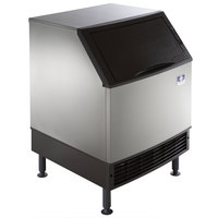 Manitowoc URF0140A NEO 26 inch Air Cooled Undercounter Regular Cube Ice Machine with 90 lb. Bin - 115V, 127 lb.