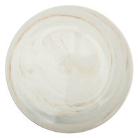 Oneida L6200000133 Marble 8 1/4 inch Porcelain Plate with Raised Rim - 24/Case