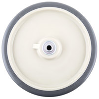 10 inch Beige Wheel for Cambro ICS175LB and IC175 Ice Bins, DC575, DC700 DC825, DC1225, and ADCS Dish Caddies, and CMB1826 Combo Carts