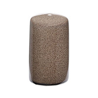 Oneida L6753059910 Rustic 1 1/2 inch Chestnut Porcelain Salt Shaker - 72/Case