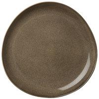 Oneida L6753059124P Rustic 7 1/4 inch Chestnut Porcelain Plate - 24/Case