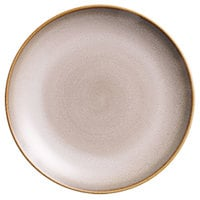 Oneida L6753066133C Rustic 8 1/4 inch Sama Porcelain Round Deep Coupe Plate - 24/Case