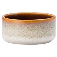Oneida L6753066941 Rustic 2 oz. Sama Porcelain Dip / Sauce Dish / Ramekin - 72/Case