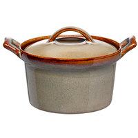 Oneida L6753066676 Rustic 16 oz. Sama Porcelain Casserole Dish - 12/Case