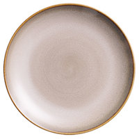 Oneida L6753066163 Rustic 12 1/4 inch Sama Porcelain Round Coupe Plate - 12/Case