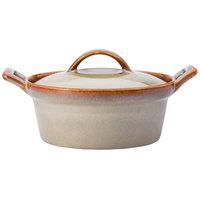 Oneida L6753066675 Rustic 8 oz. Sama Porcelain Casserole Dish - 12/Case