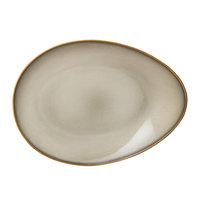 Oneida L6753066385 Rustic 14 inch Sama Porcelain Eclipse Plate - 12/Case