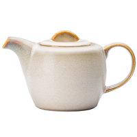 Oneida L6753066860 Rustic 14 oz. Sama Porcelain Teapot - 12/Case