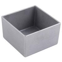 Bon Chef 9507PG 28 oz. Pewter-Glo Cast Aluminum Straight Square Bowl