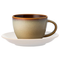 Oneida L6753066521 Rustic 3 oz. Sama Porcelain Espresso Cup - 48/Case