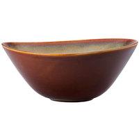 Oneida L6753066764 Rustic 42 oz. Sama Porcelain Soup Bowl - 12/Case