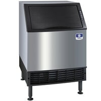 Manitowoc UYF0240W-161 NEO 26 inch Water Cooled Undercounter Half Dice Cube Ice Machine with 90 lb. Bin - 115V, 207 lb.