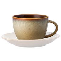 Oneida L6753066780 Rustic 8 oz. Sama Porcelain Cup - 24/Case