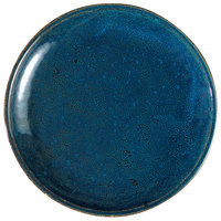 Oneida F1468994151 Studio Pottery Blue Moss 10 5/8 inch Porcelain Round Plate - 12/Case