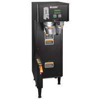 Bunn 34800.0001 BrewWISE Black Single ThermoFresh DBC Brewer with Funnel Lock - 120/240V
