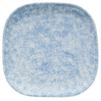 Oneida F1463060001 Studio Pottery Cloud 9 7/8 inch Square Porcelain Plate - 12/Case