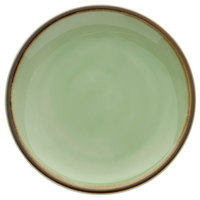Oneida F1463067115 Studio Pottery Celadon 6 inch Porcelain Round Plate - 24/Case