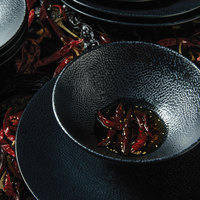Oneida L6550000729 Leather 13.5 oz. Porcelain Pedestal Bowl - 36/Case