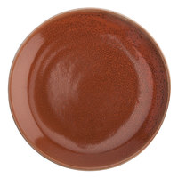 Oneida F1493025155 Terra Verde Cotta 11 inch Porcelain Plate - 18/Case