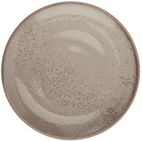 Oneida F1493015156 Terra Verde Natural 11 1/2 inch Porcelain Round Coupe Plate - 12/Case