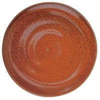 Oneida F1493025117 Terra Verde Cotta 6 inch Porcelain Coupe Plate - 36/Case