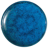 Oneida F1468994115 Studio Pottery Blue Moss 6 inch Porcelain Round Plate - 24/Case