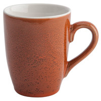 Oneida F1493025563 Terra Verde Cotta 11 oz. Porcelain Mug - 36/Case